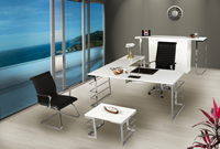 Corner White Ofis Mobilyası
