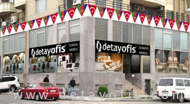 Detay Ofis Mebel, Azərbaycan Bakıda açdığı yeni Showroomu ilə xidmətinizdə