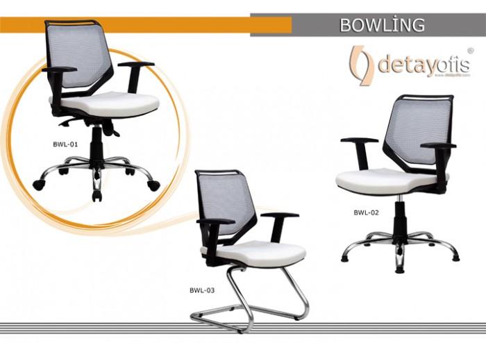 Bowling Seriyası Ofis Kresloları