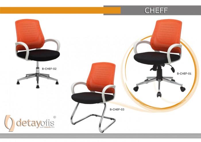 Chef ağ Seriyası Ofis Kresloları