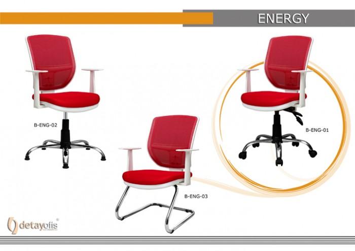 Energy ağ Seriyası Ofis Kresloları